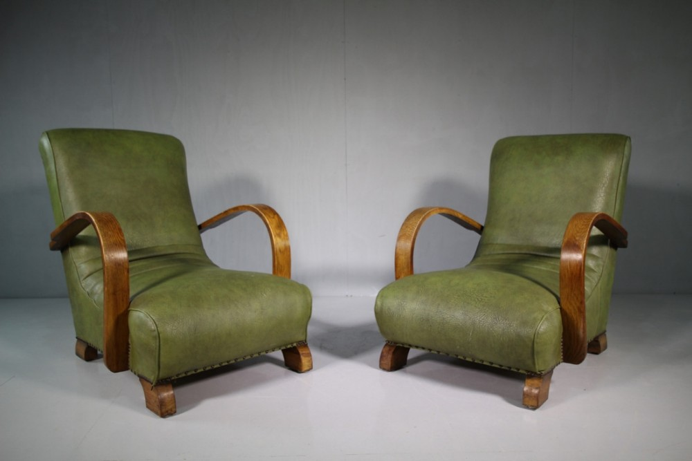 Pair Of 1930's Heals Of London Armchairs. | 483662 ...