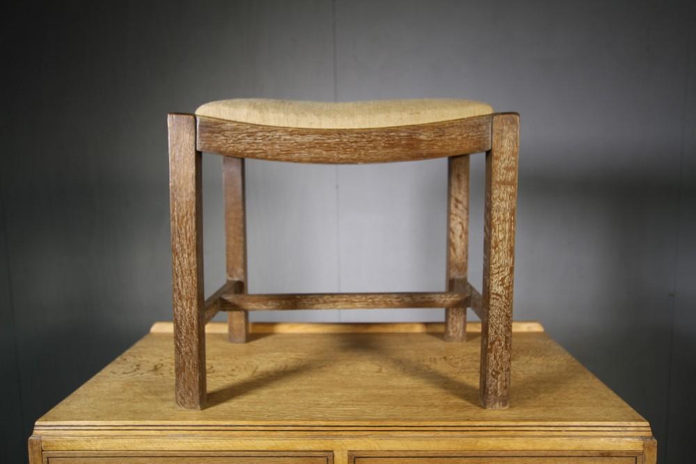 1930's heals of london oak stool