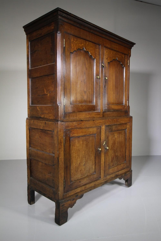 georgian antique oak food cupboard from north wales