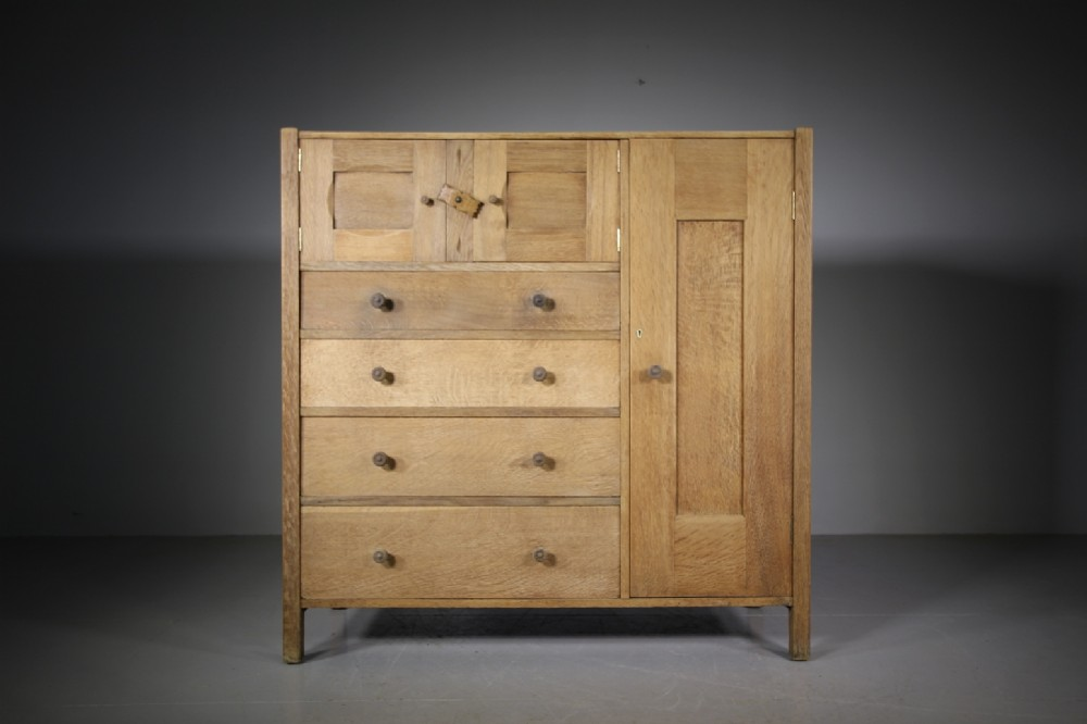 rare heals letchworth antique oak compactum