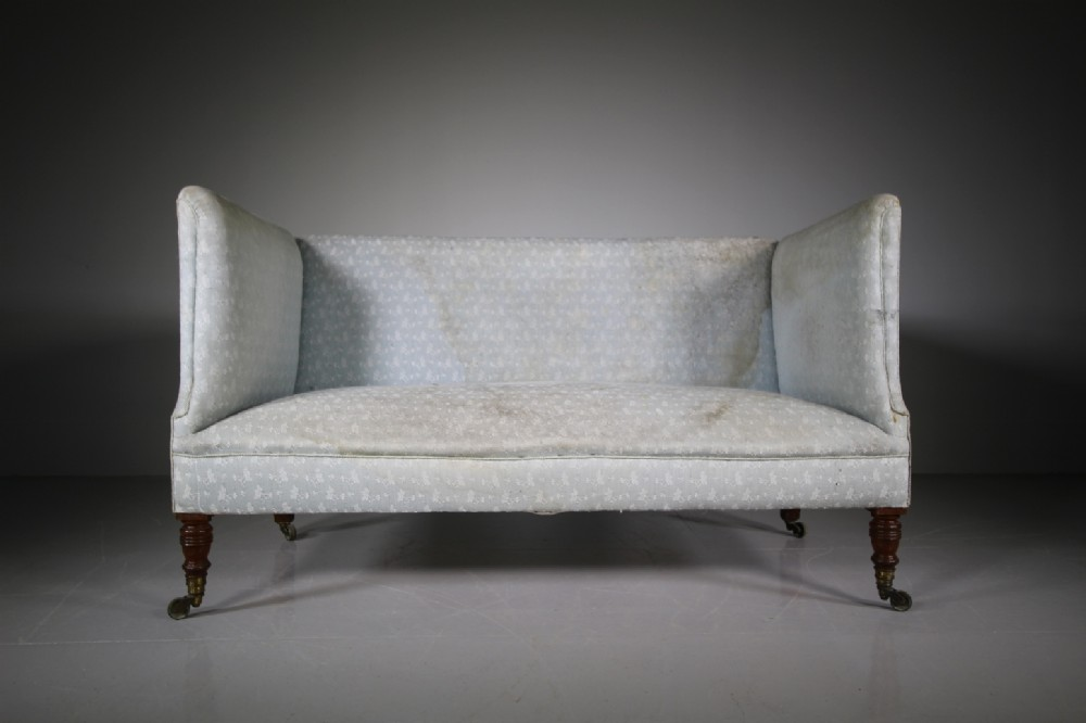 19th century antique howard sons sofalabelled