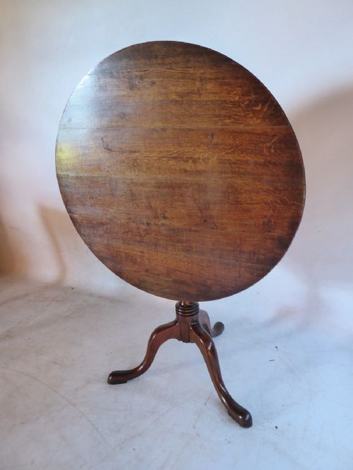 english 18th century country lamp table