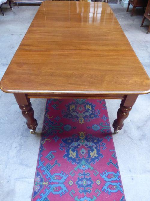 english mahogany extending dining table