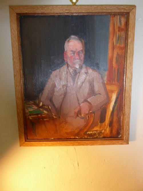 small scottish school oil painting