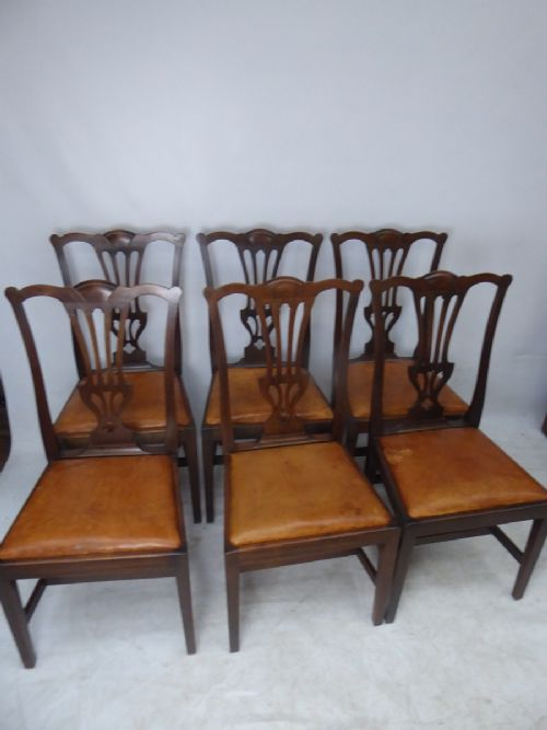 6 scottish chairs by wheeler of arncroach
