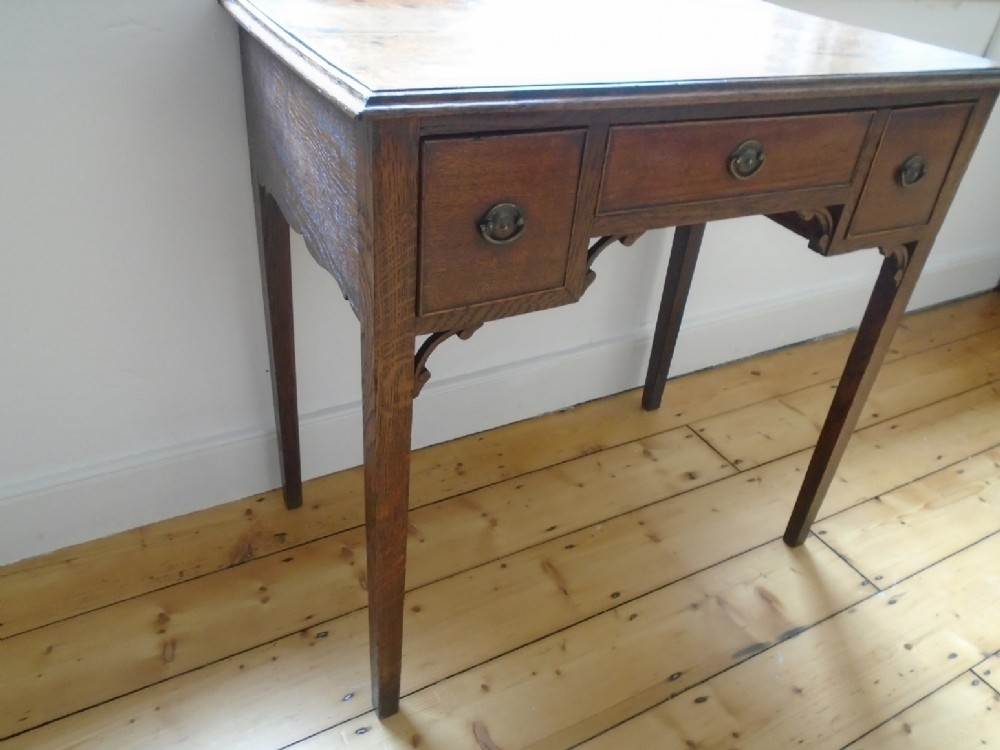 english 18th century side table low boy