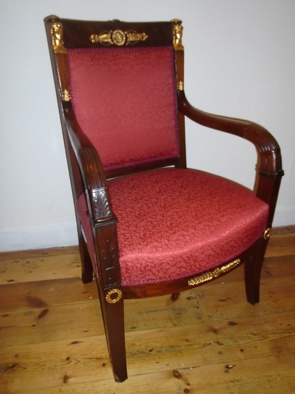 french empire style chair