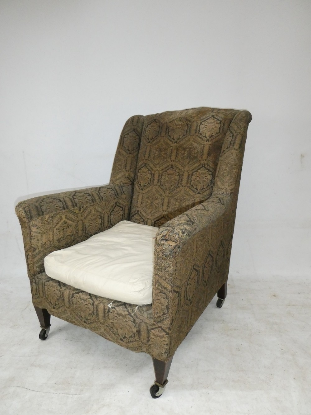 1900s wing arm chair