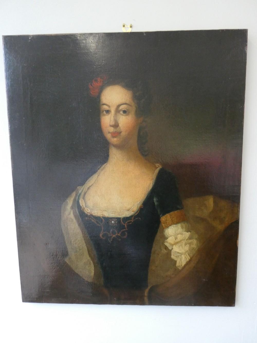 18th century portrait painting