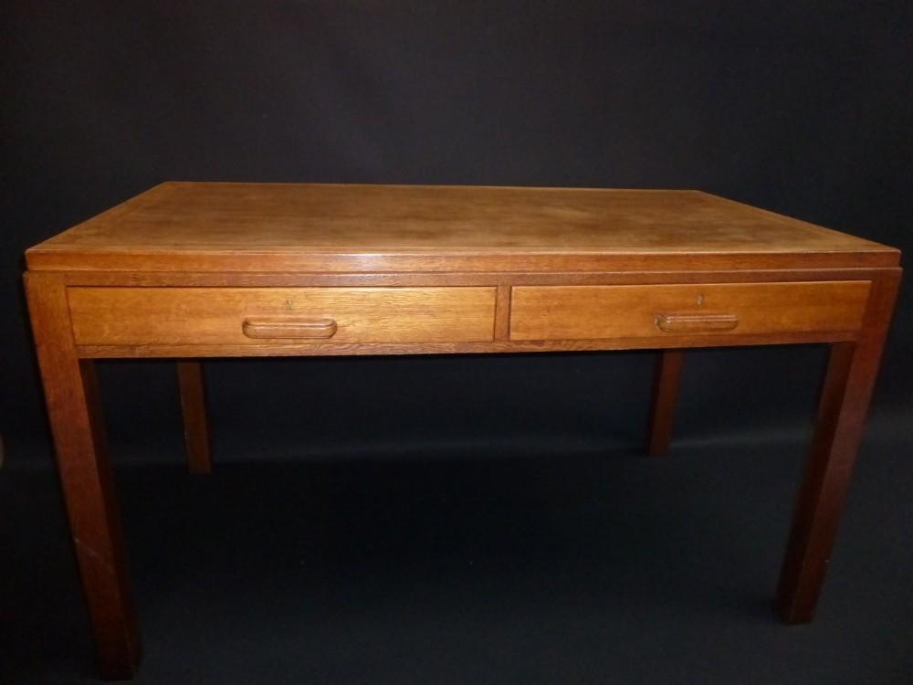 Oak Desk With Drawers ~ Oak two drawer desk sellingantiques