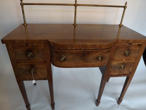 c18th george iii sheraton period mahogany sideboard