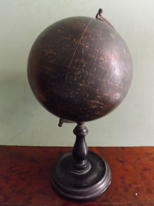 early c20th 6 celestial globe by philips london