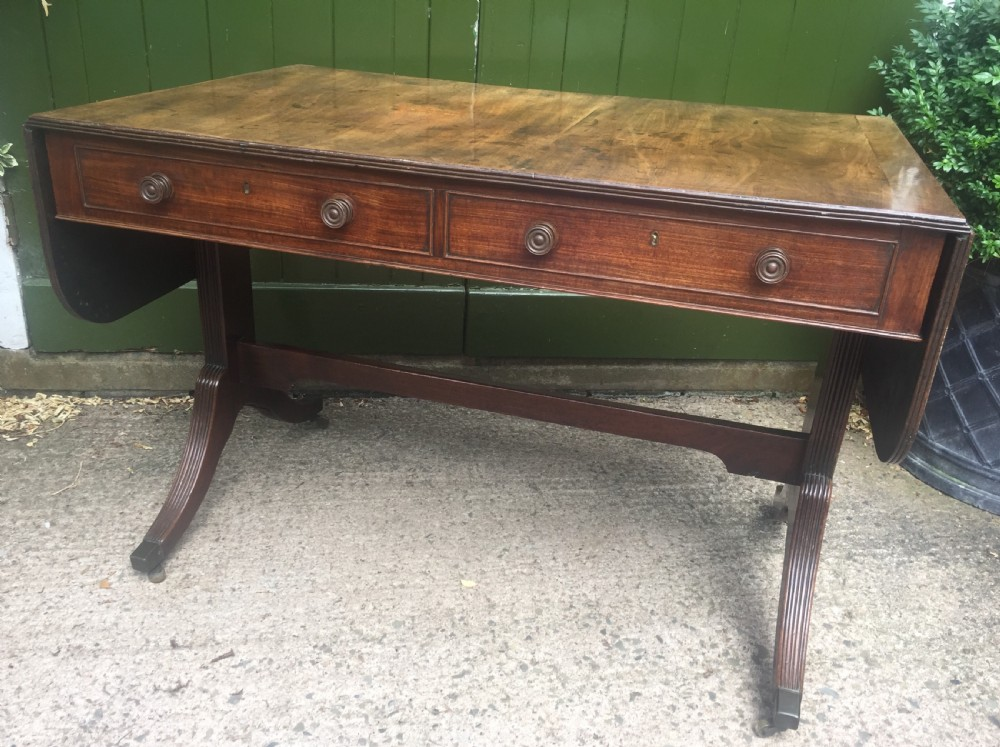 late c18th early c19th george iii period mahogany sofa table