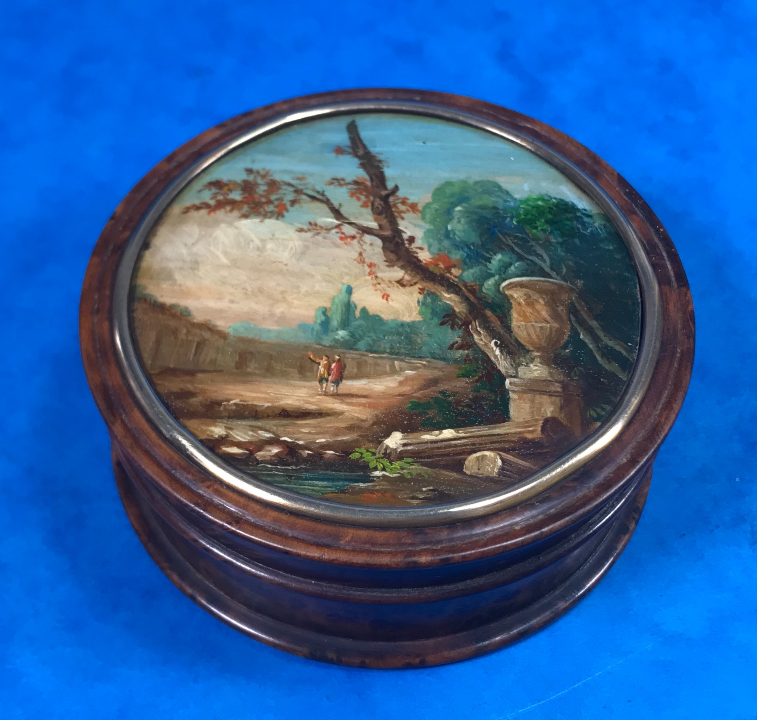 19th century french table box