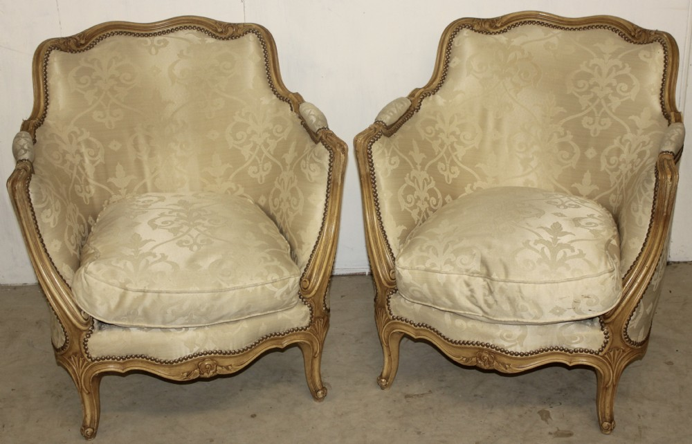 Classic Pair Of French Armchairs | 377319 ...