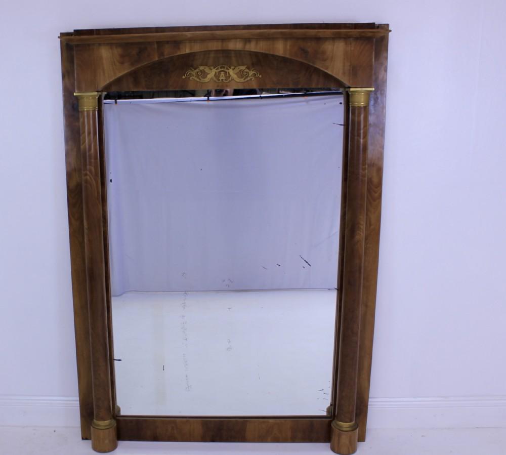 mahogany french empire mirror
