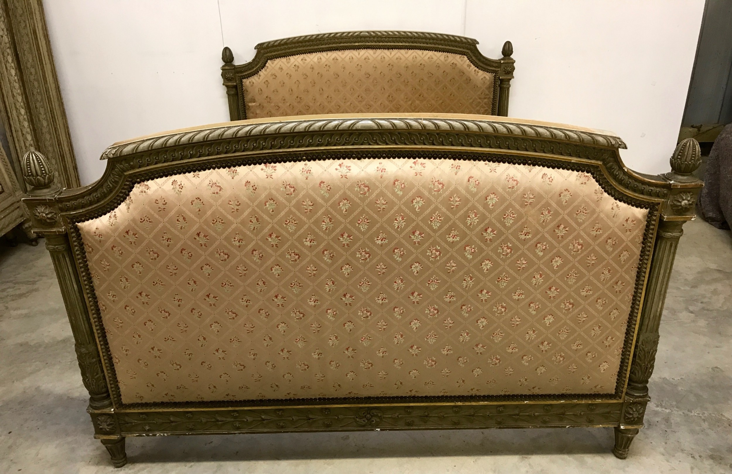 fine quality french king size bed