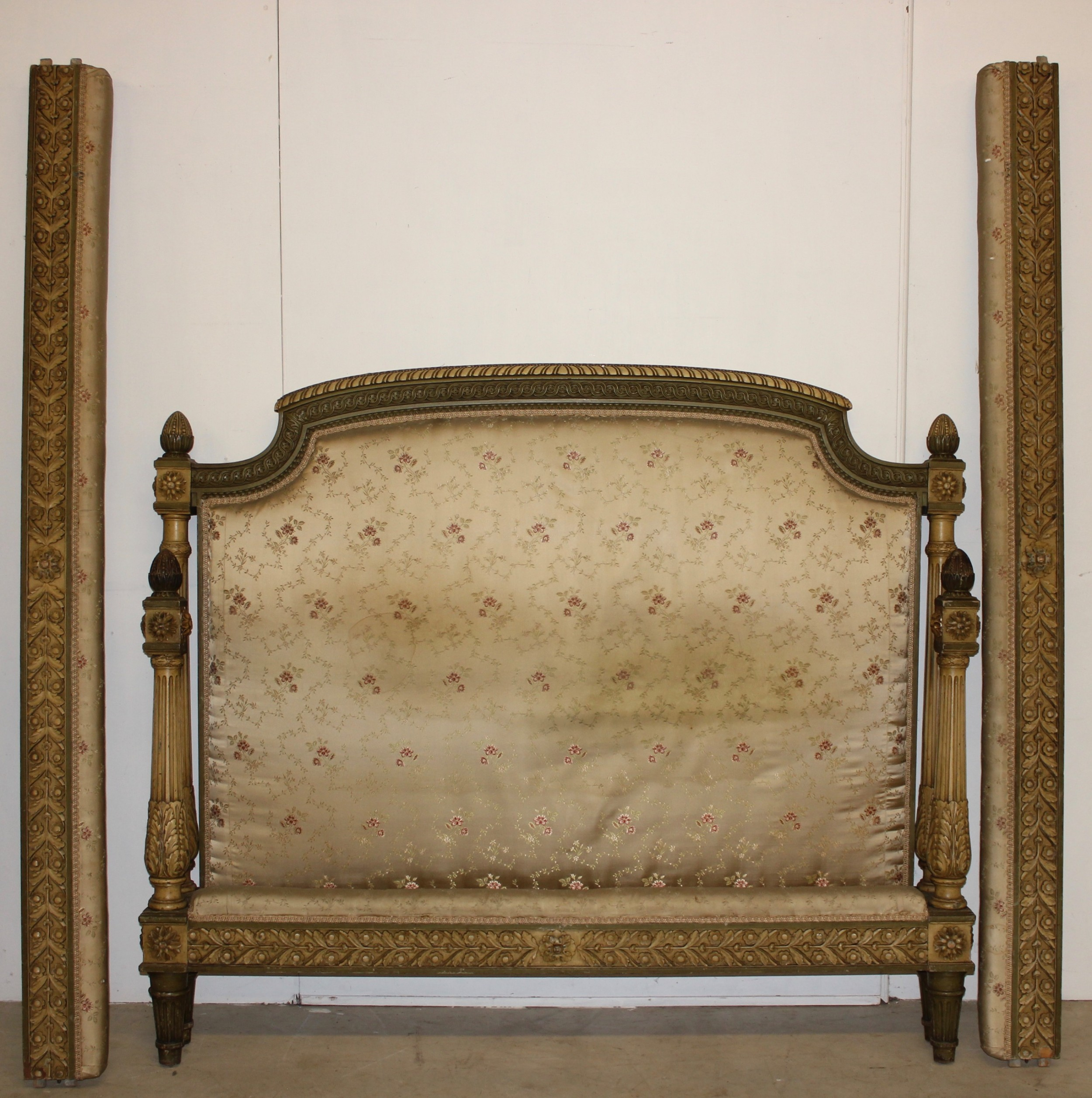 original painted king size bed