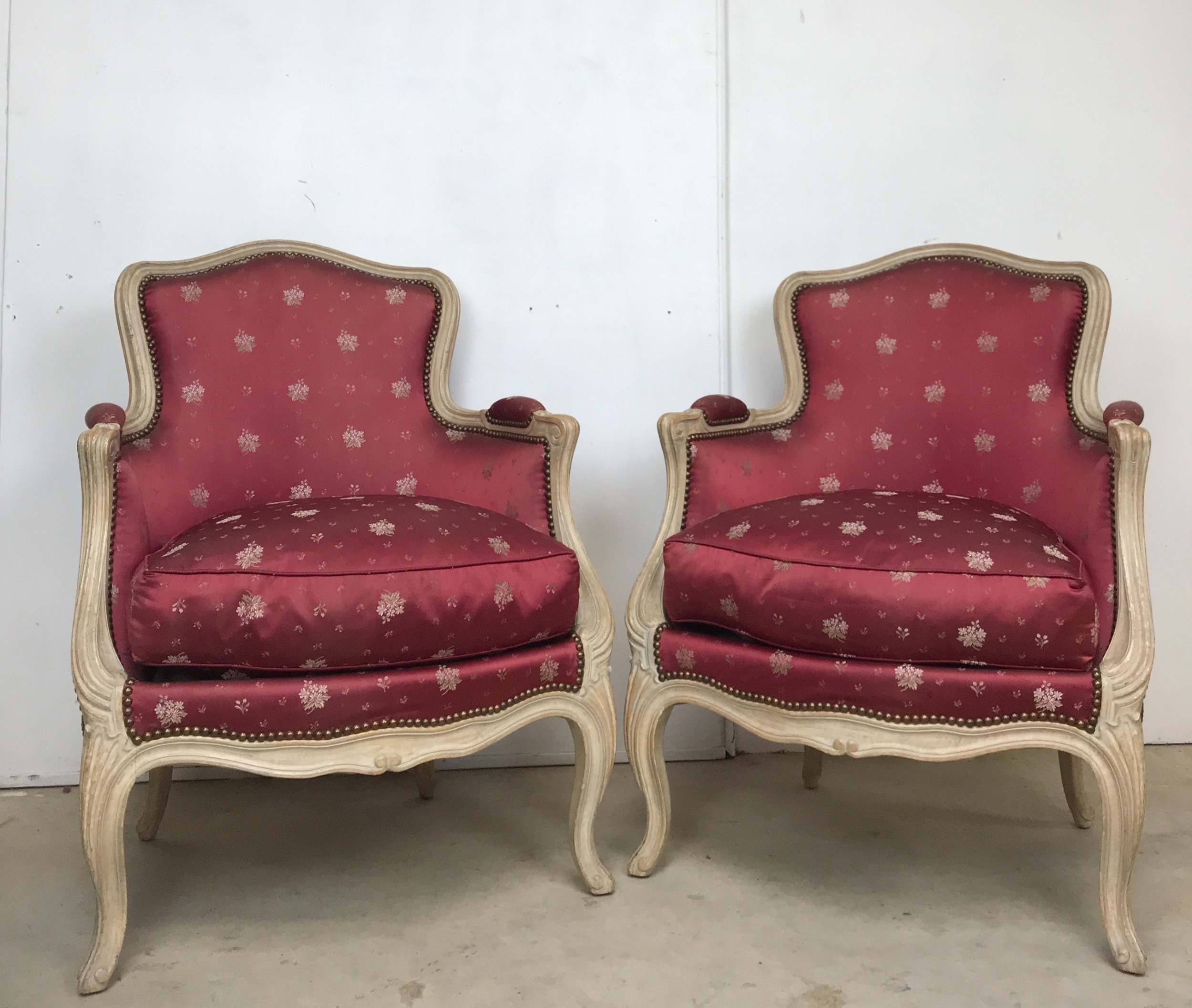 Classic Pair Of French Armchairs | 633784 ...