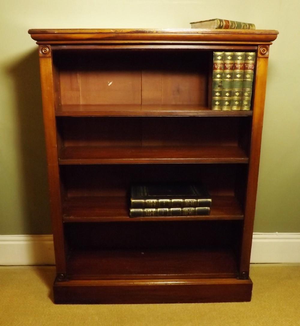 Old Bookcase Uk : Th c mahogany bookcase sellingantiques