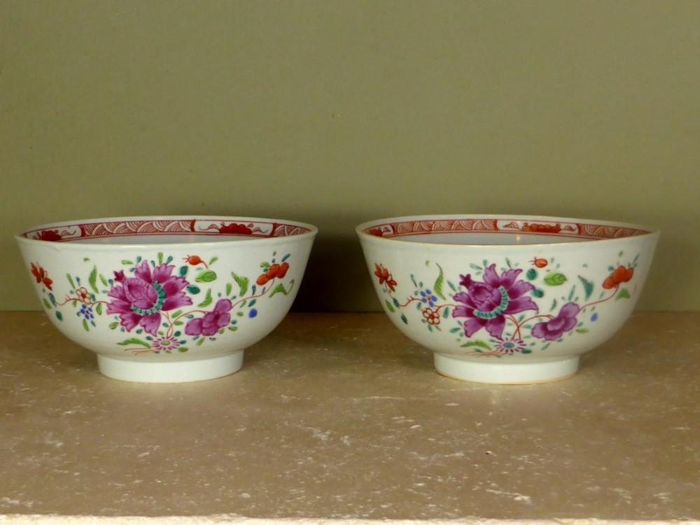 18th c chinese bowls & 18th C Chinese Bowls | 474972 | Sellingantiques.co.uk