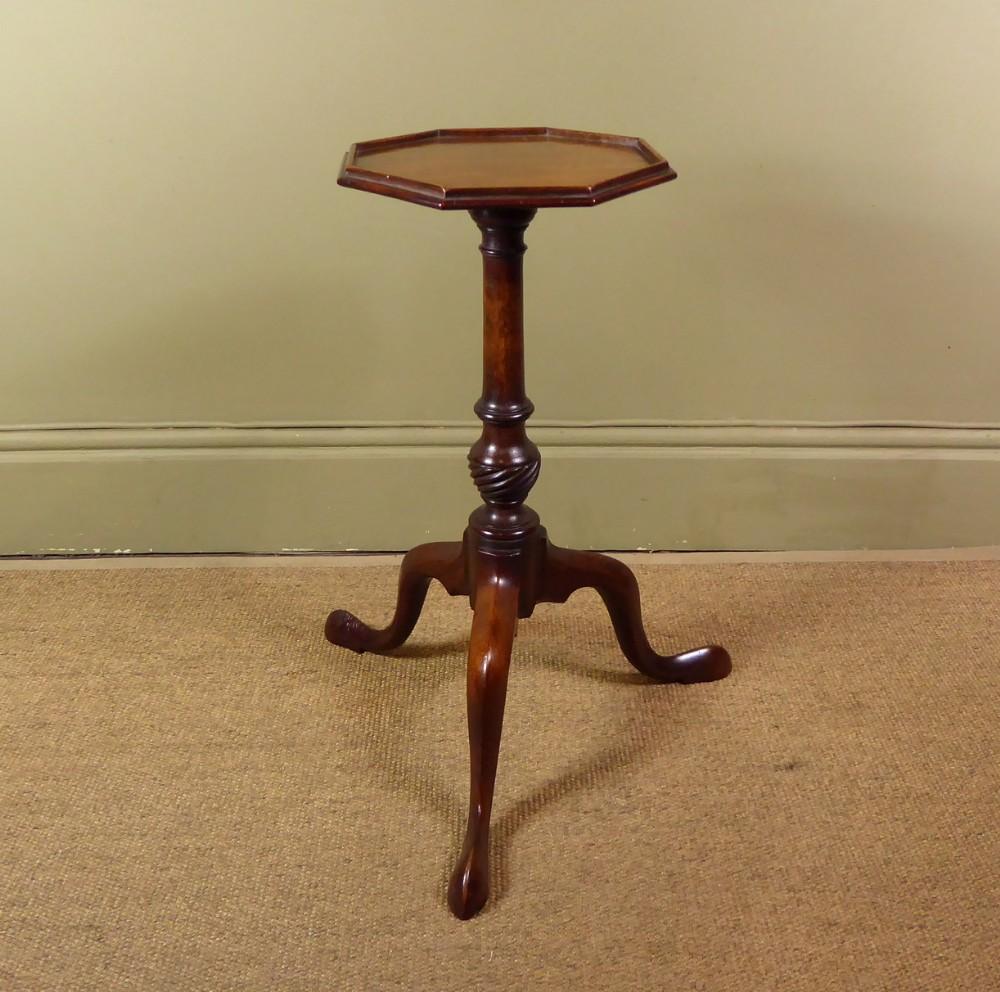 small 19th c mahogany tripod table