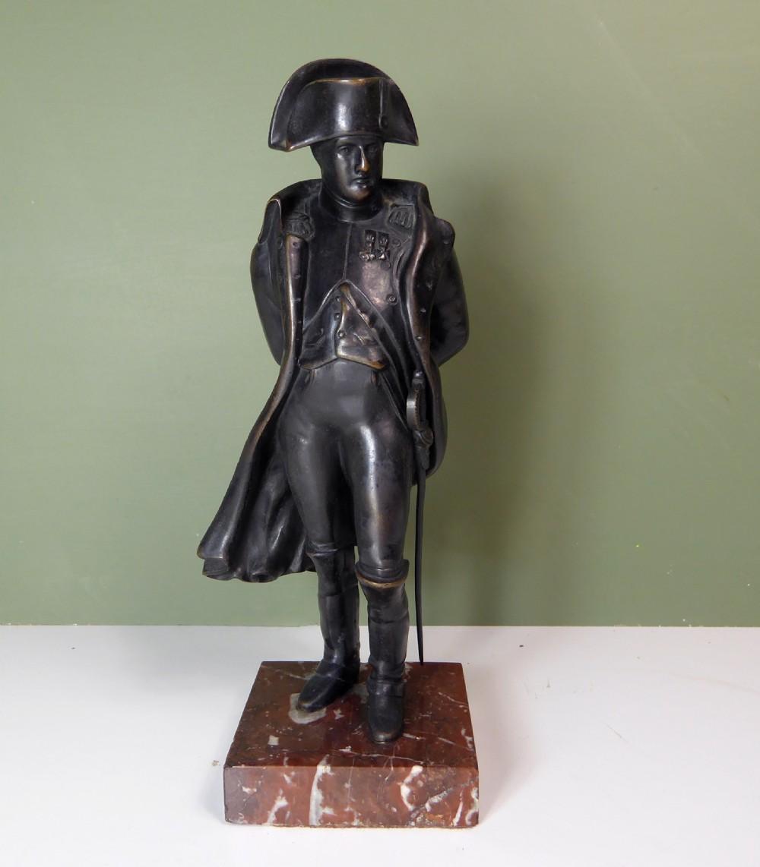 19th c bronze figure of napoleon
