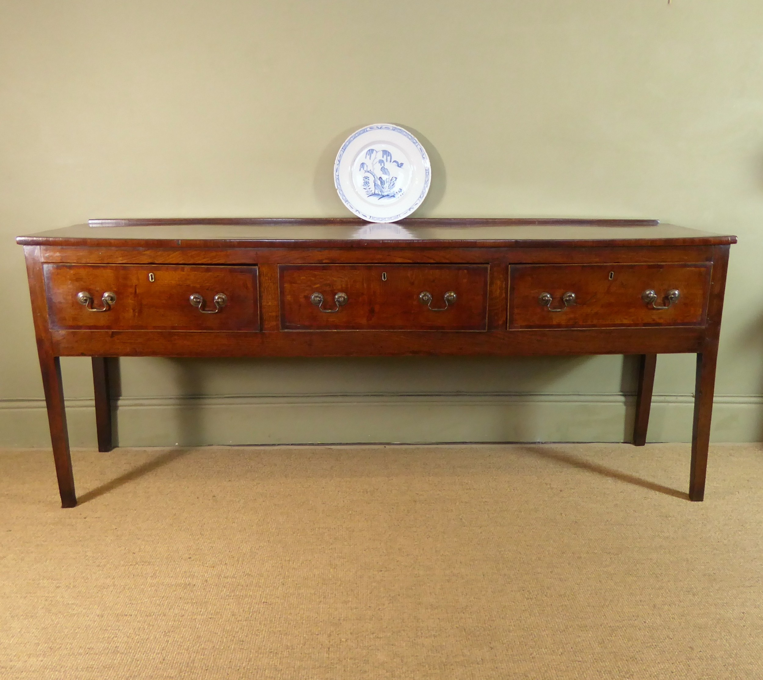 18th c oak dresser