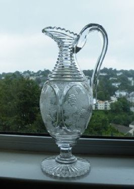 a superb regency champagne wine jug circa 1820