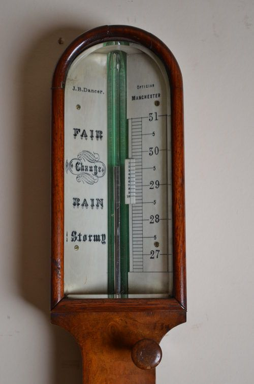 victorian stick barometer by jb dancer - photo angle #2