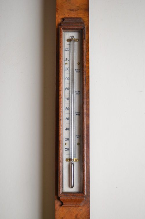victorian stick barometer by jb dancer - photo angle #3