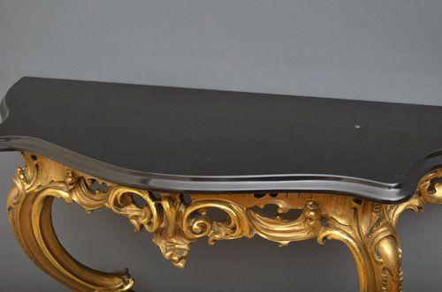 Beau Wonderful Elegant Late Victorian Giltwood Console Table Hall Table