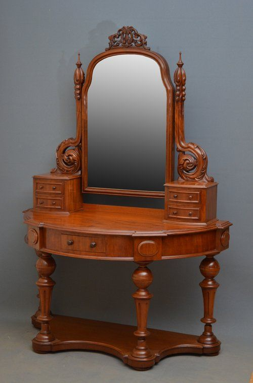victorian mahogany duchess stand dressing table