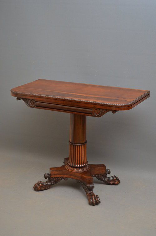 superior william iv tea table