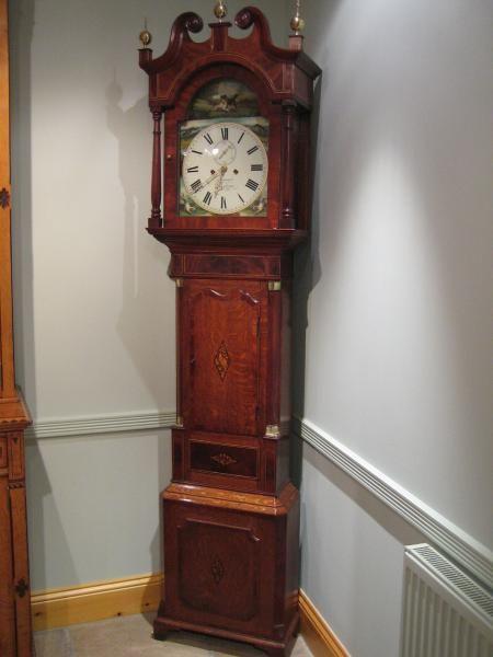 early victorian longcase clock by d bowenalfreton