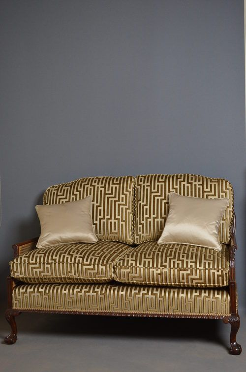 very attractive bergere sofa settee