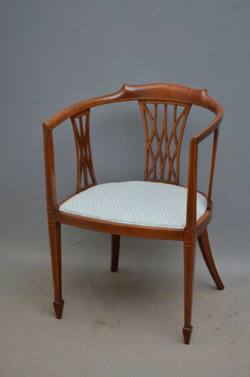 Antique Tub Chairs - Antique Tub Chairs - The UK's Largest Antiques Website