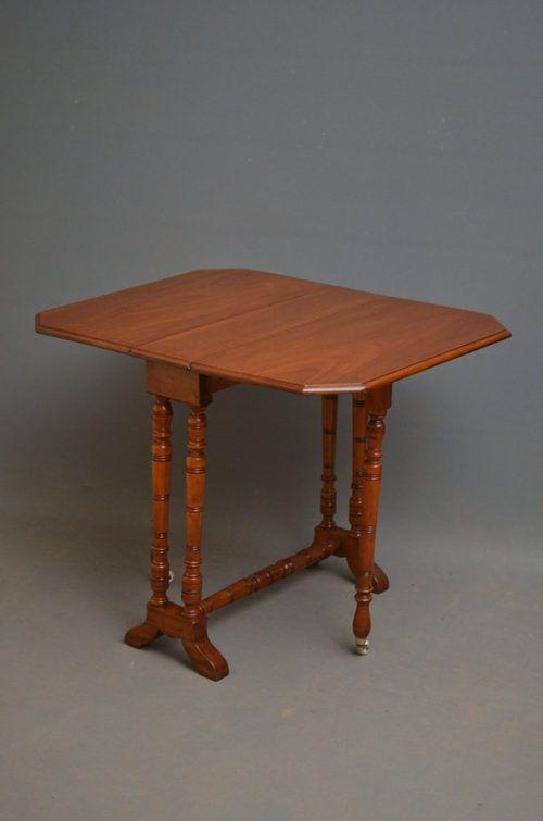 edwardian sutherland table in mahogany
