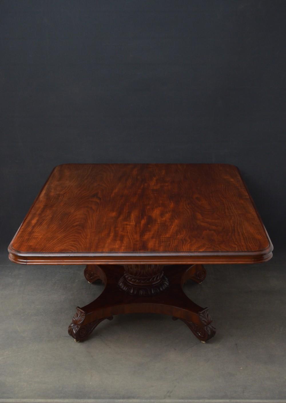large william iv cuban mahogany dining table