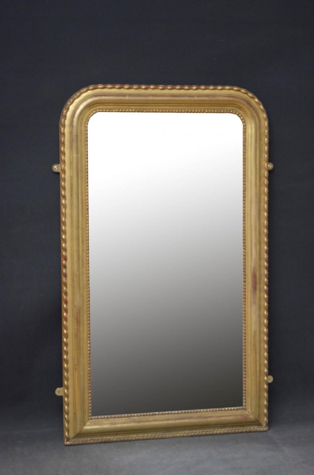 louis philippe style pier mirror