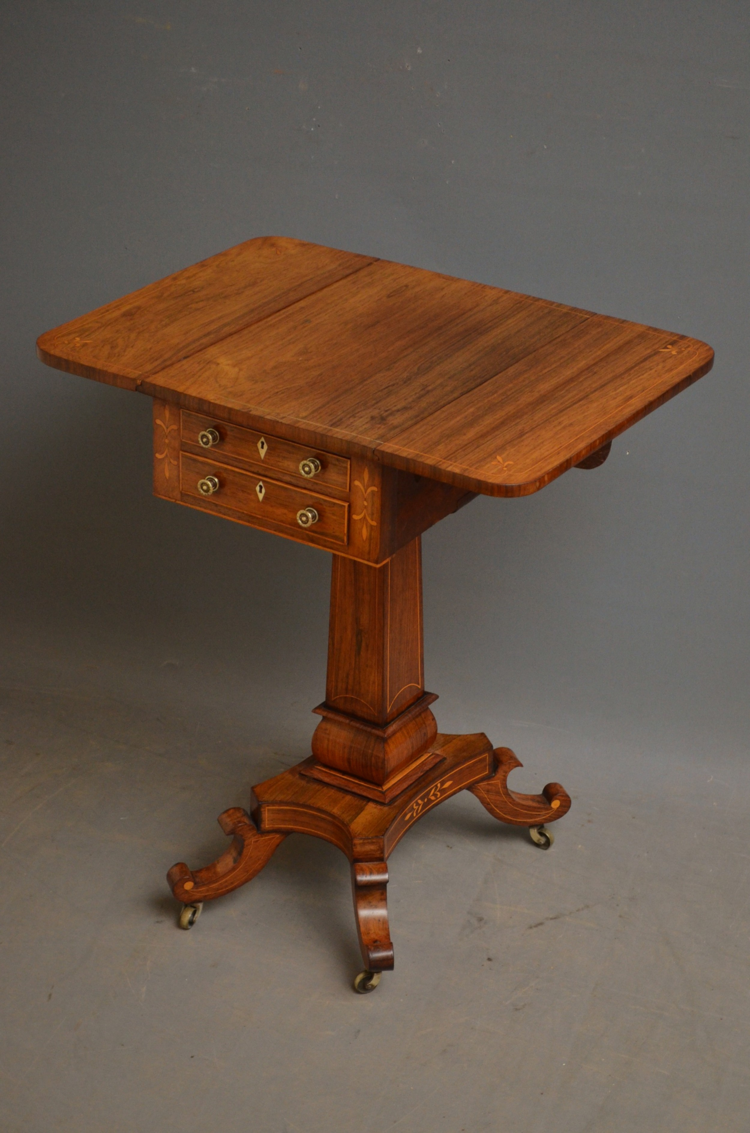 regency rosewood pembroke table
