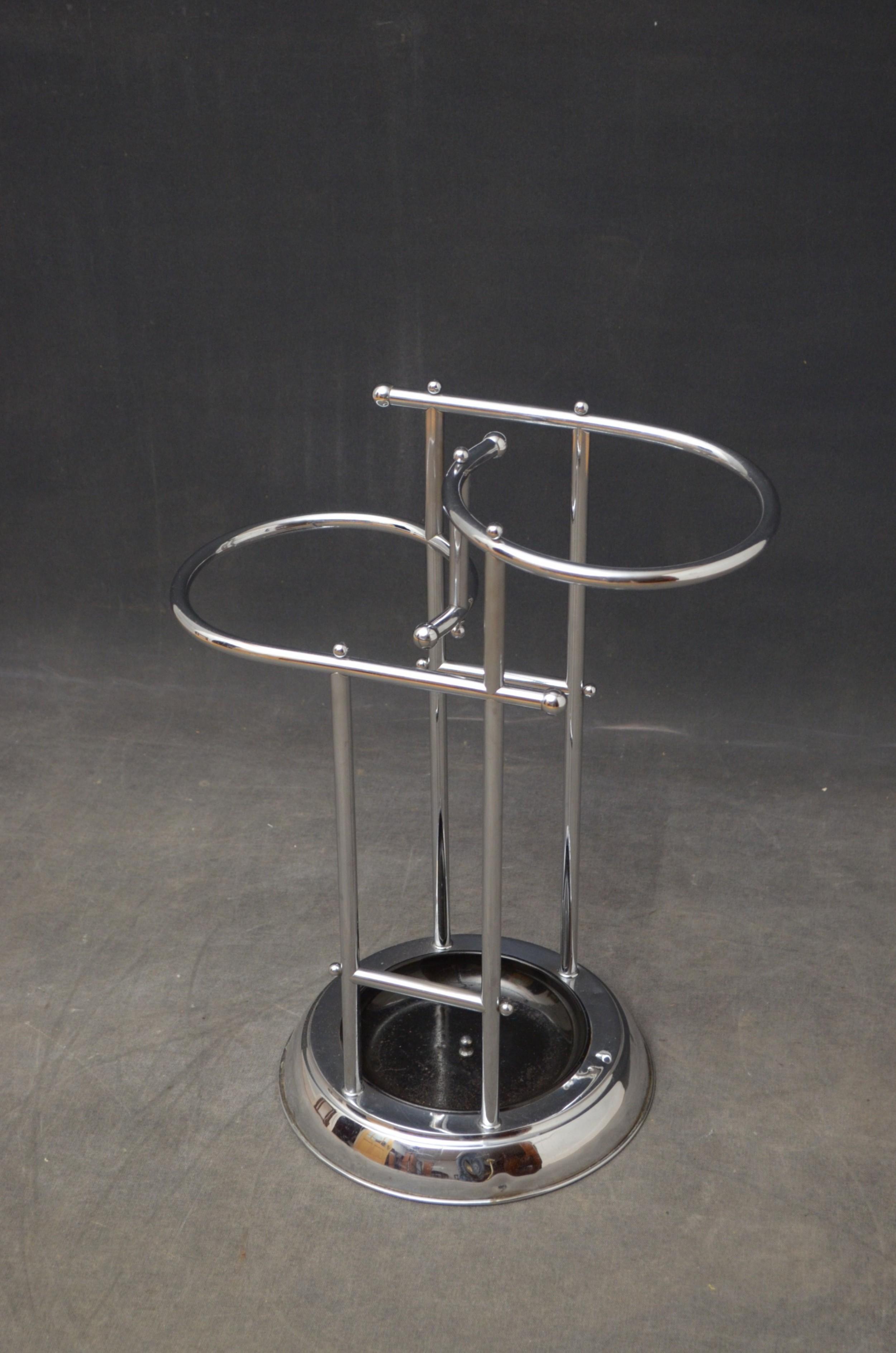 stylish art deco umbrella stand