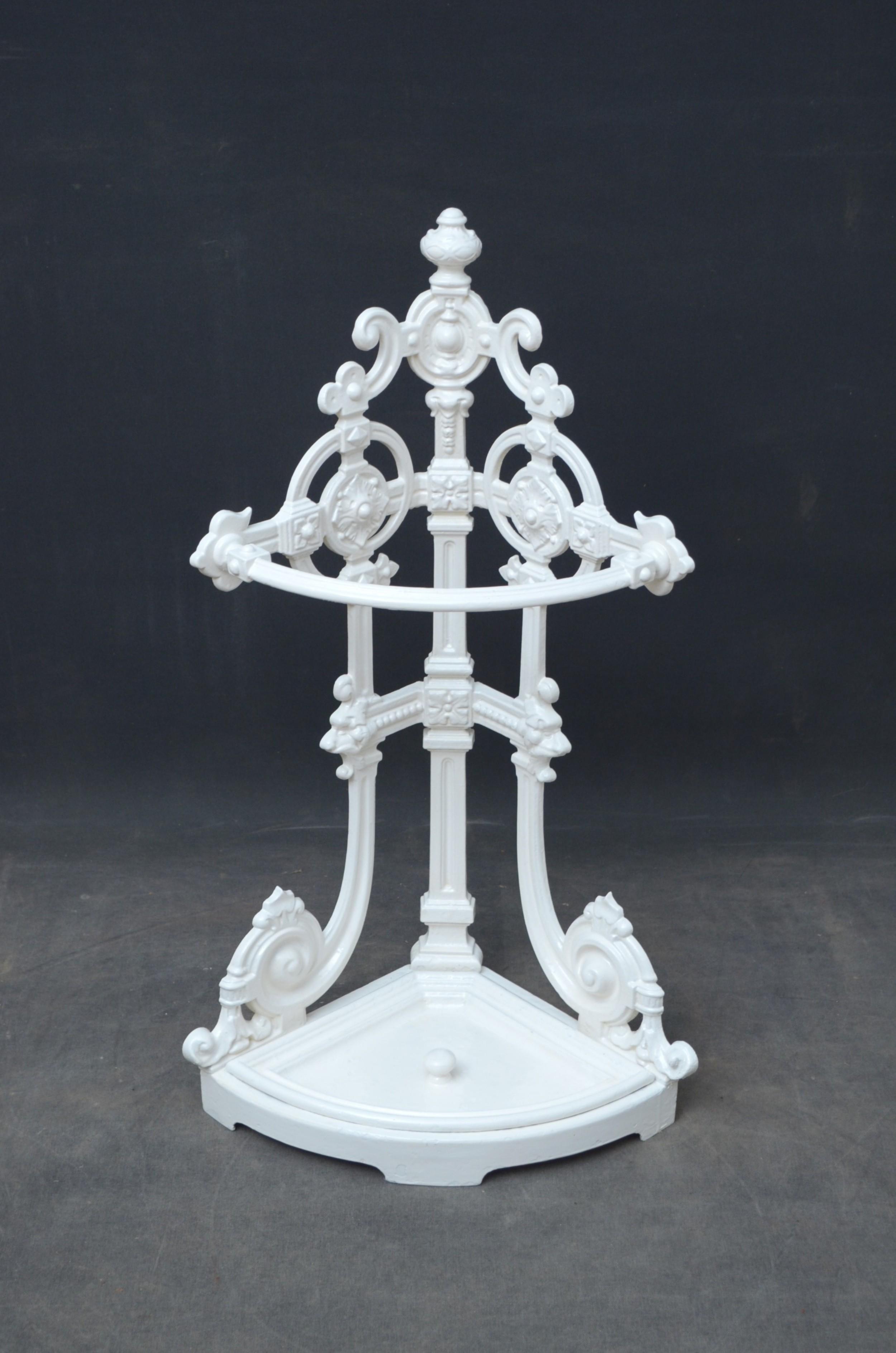 rare victorian corner umbrella stand