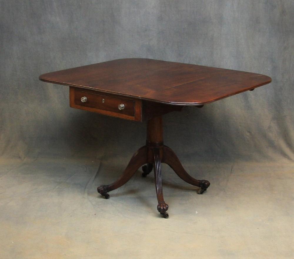 regency mahogany pembroke table
