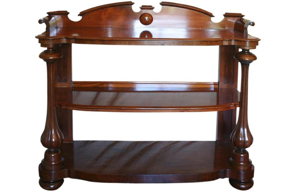 19th century victorian mahogany buffet