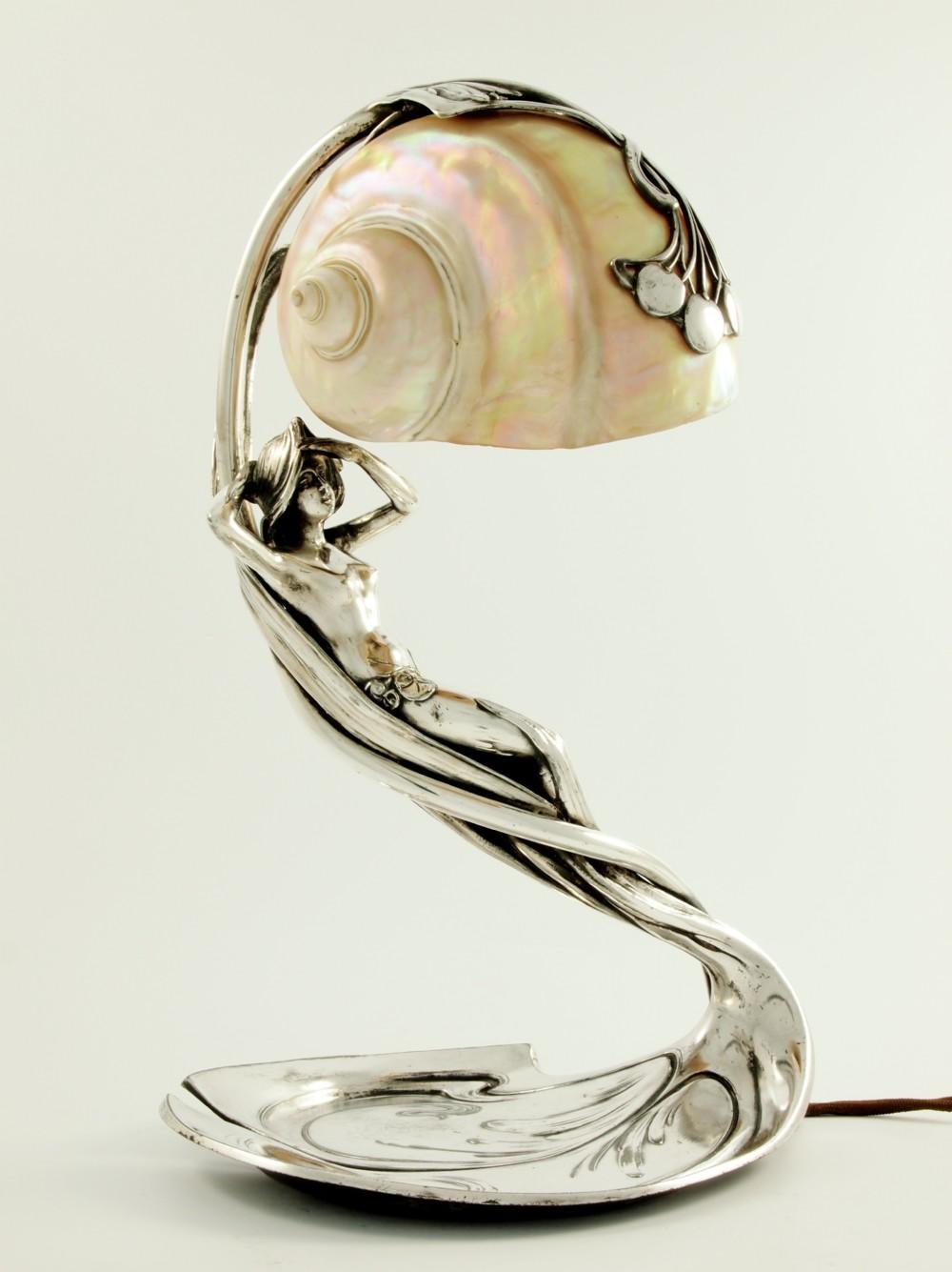 Picture of: Art Nouveau Mermaid Lamp 322148 Sellingantiques Co Uk