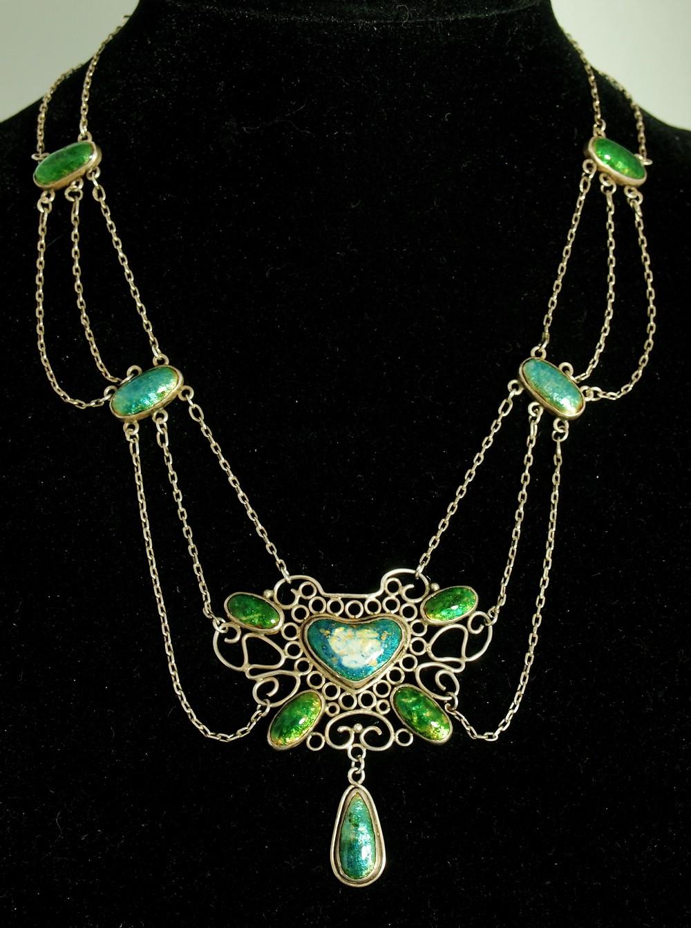arts crafts birmingham school necklace