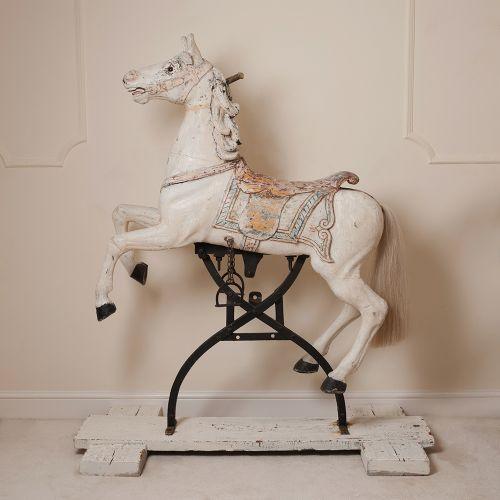 Rare Antique Carousel Horse 604314 Sellingantiquescouk