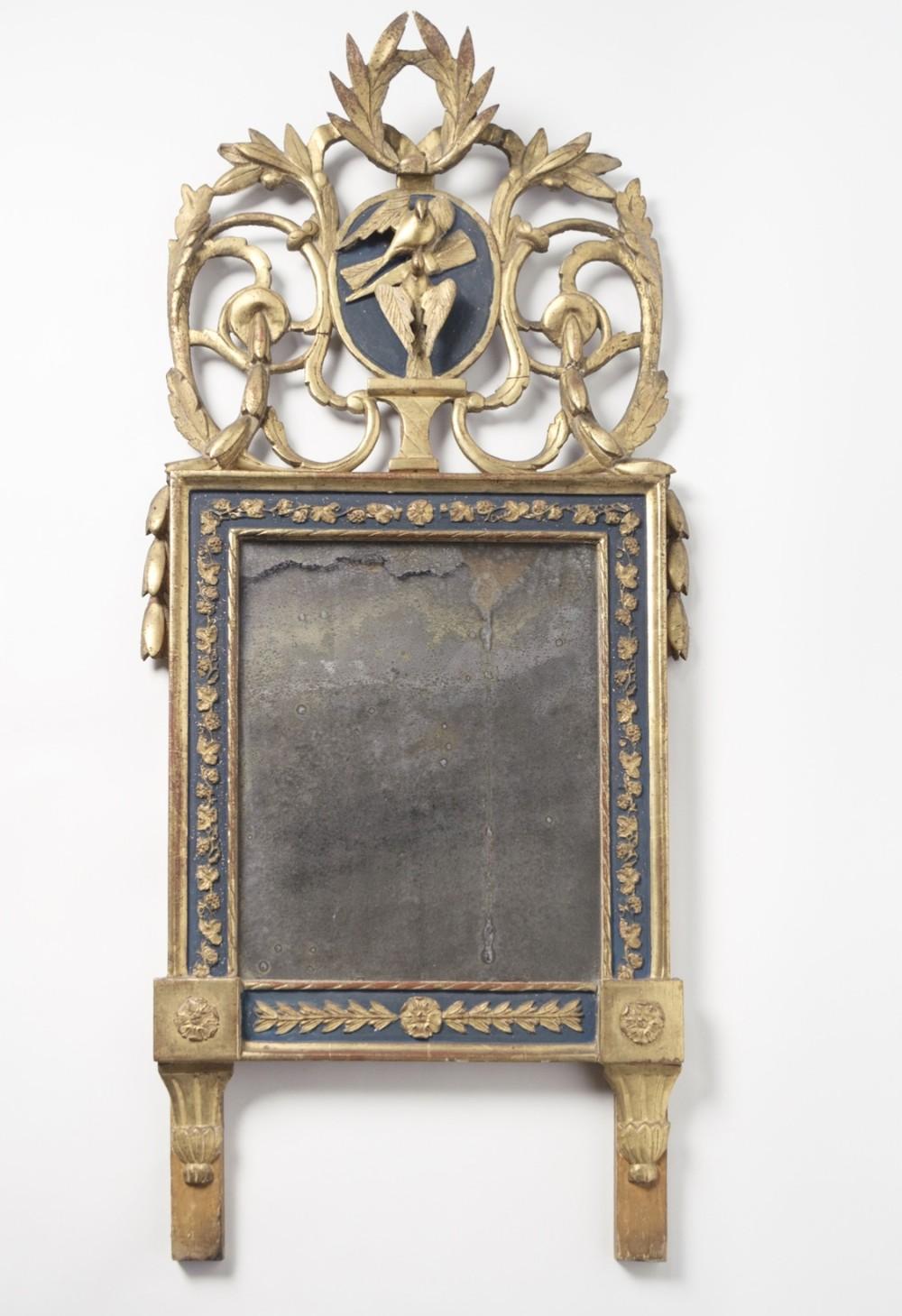 antique swedish pier mirror