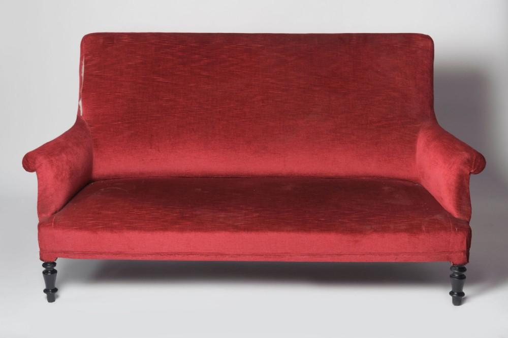 antique french napoleon iii sofa